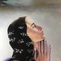 Hyemi Cho, Prayer, 2019, 30.5 × 30.5 cm