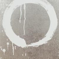 古家野雄紀「円相図」、2018年、F6号