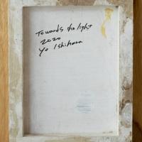 作品名:who「Towards the light」(サイン)制作年:2020年サイズ:18x14 cm素材:綿布・岩絵具・水干・アクリル絵具価格:33,000円(税込)備考:額なし