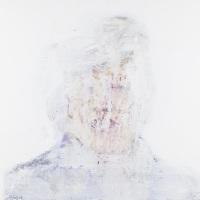 作品名:Veil of ignorance 3制作年:2017年サイズ:S6(40×40 cm)素材:綿布・岩絵具・水干価格:79,200円(税込)備考:額なし