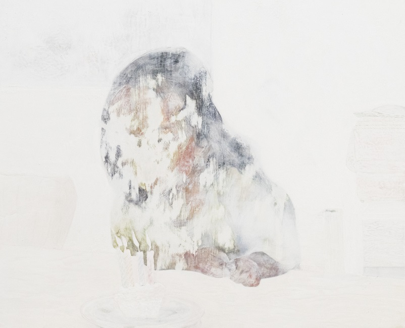 作品名:無効信号「birthday」制作年:2016年F30(91×72.7 cm)素材:綿布・岩絵具・水干価格:277,200円(税込)備考:額なし
