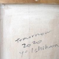 作品名:who「Tomorrow」(サイン)制作年:2020年サイズ:P40(73×103 cm)素材:綿布・岩絵具・水干・アクリル絵具価格:316,800円(税込)備考:額なし