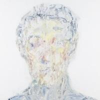 作品名:Veil of ignorance 2制作年:2019年サイズ:S6(40×40 cm)素材:綿布・岩絵具・水干価格:79,200円(税込)備考:額なし