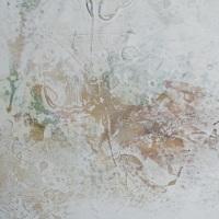 作品名:White noise「boy」(部分)制作年:2017年サイズ:F30(72.7×91.9 cm)素材:綿布・岩絵具・水干・グロスポリマー価格:277,200円(税込)備考:額なし